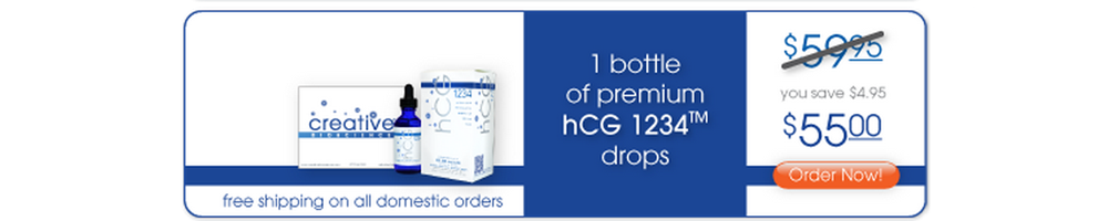 Buy Your HCG Drops Now!  Buy 1 Bottle Of HCG Diet Drops